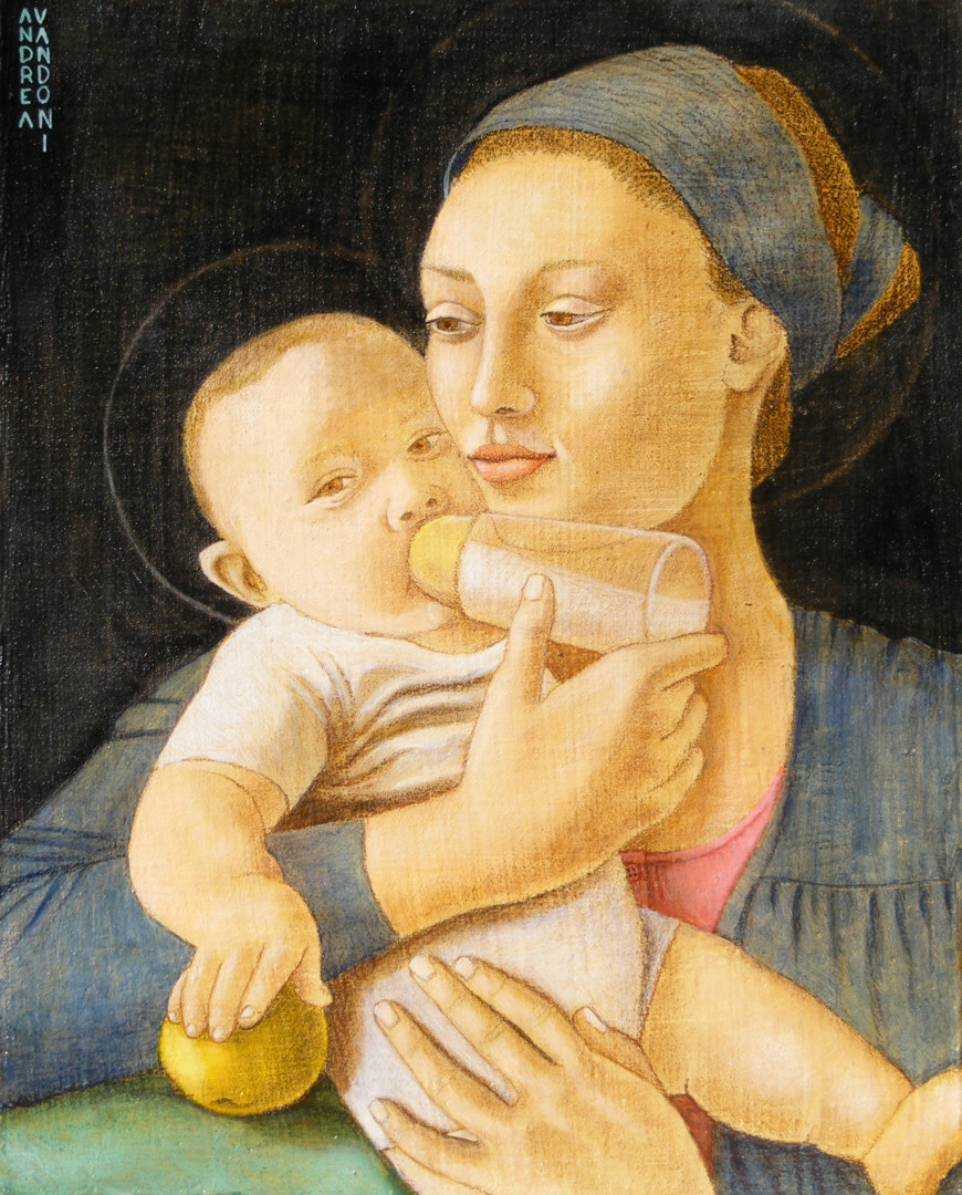 Andrea Vandoni - MADONNA NURSERING THE CHILD