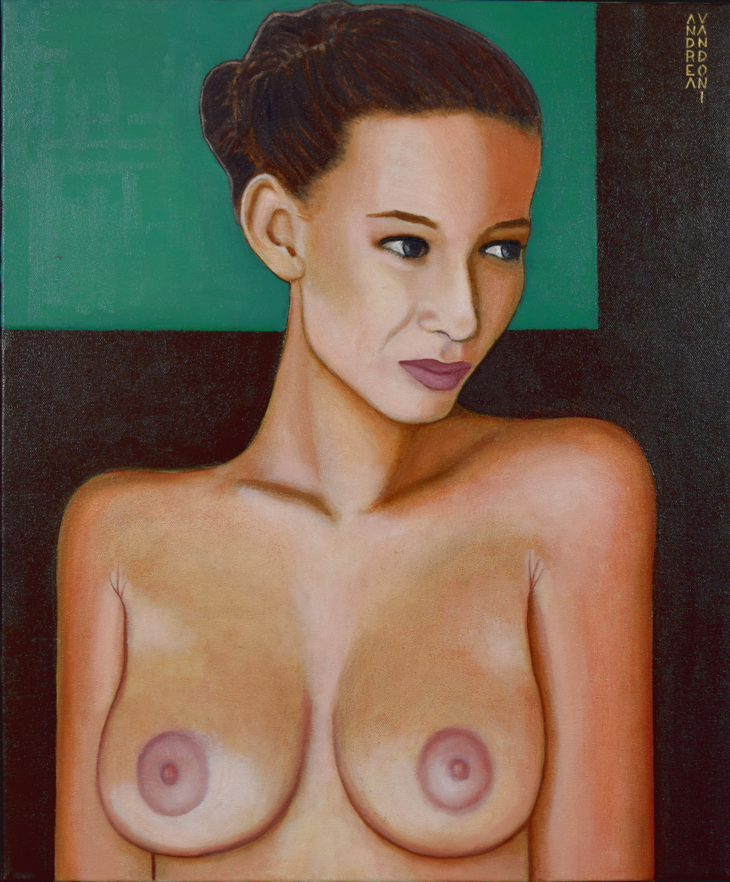 Andrea Vandoni - BUST OF A NAKED GIRL