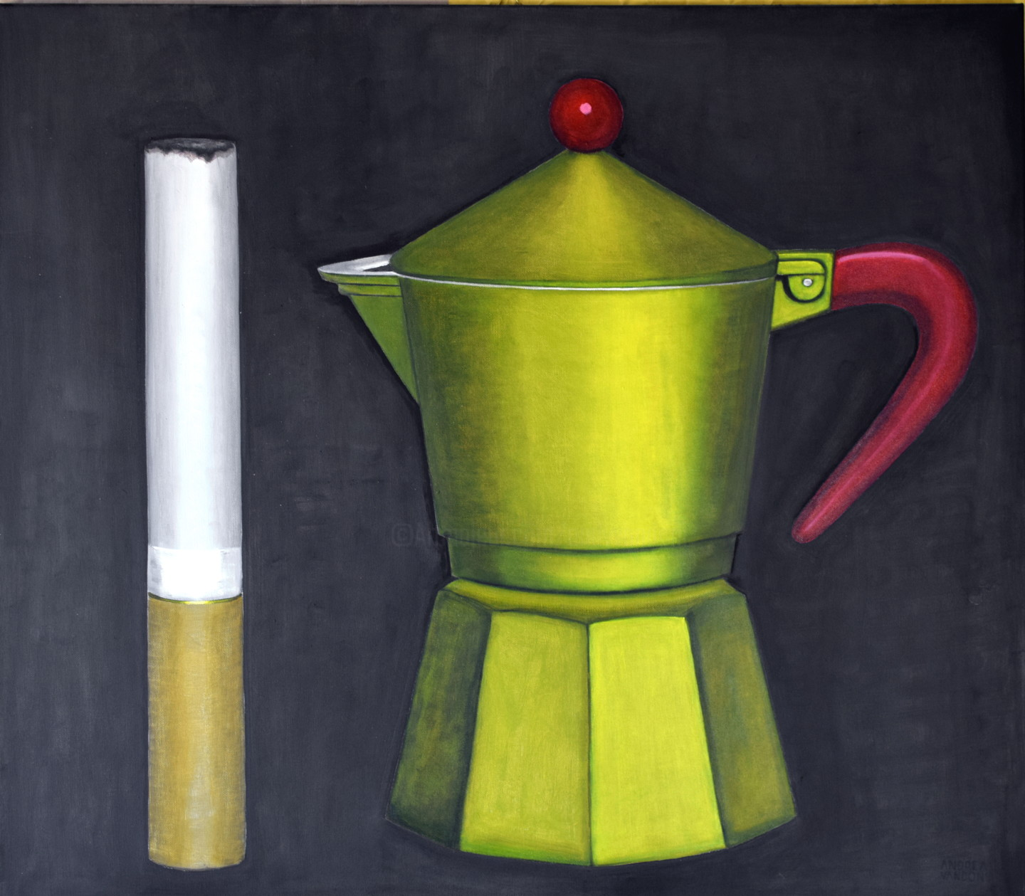 Andrea Vandoni - COFFEE AND CIGARETTE, large special price