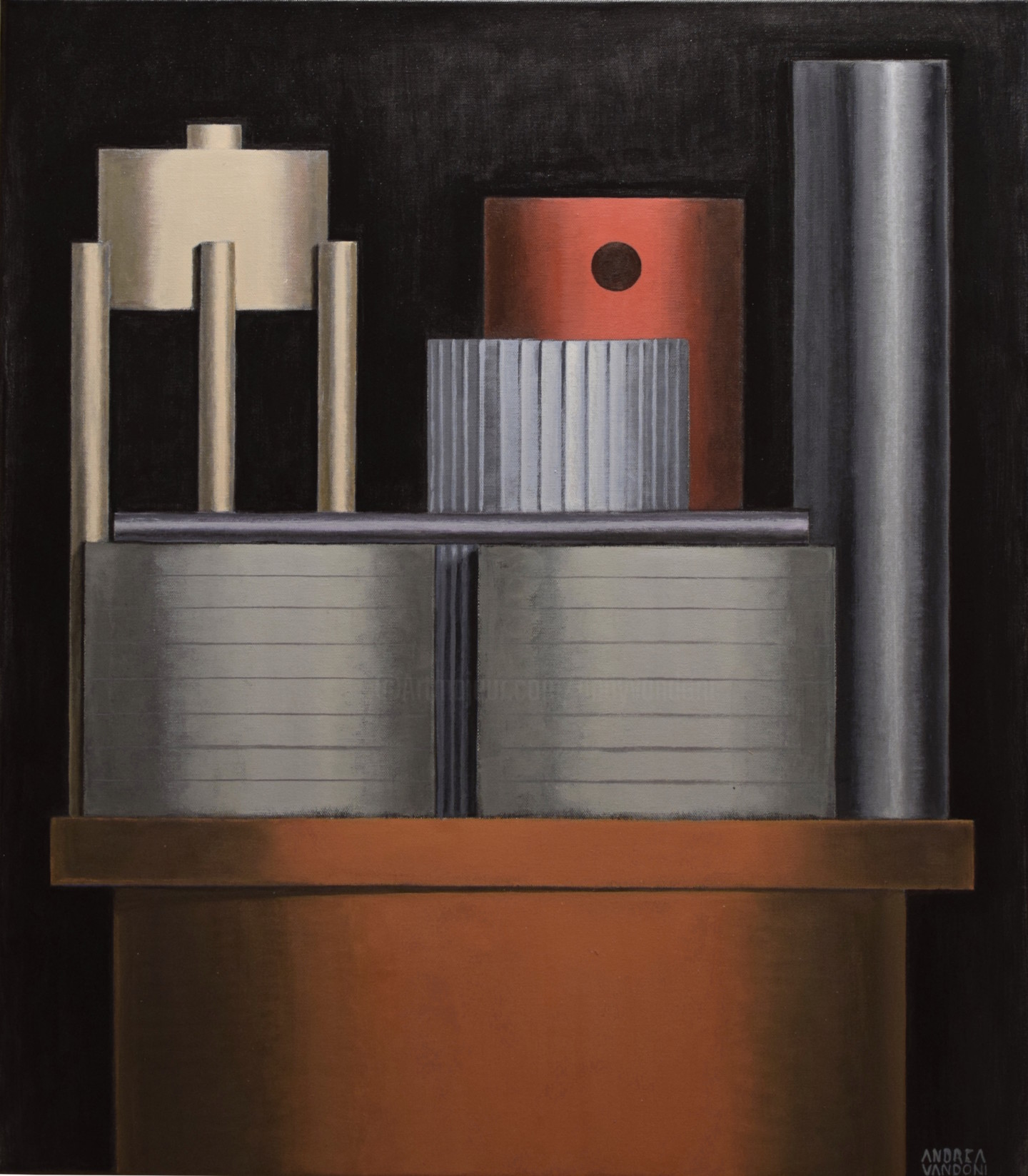 Andrea Vandoni - RECTANGLES OR CYLINDERS