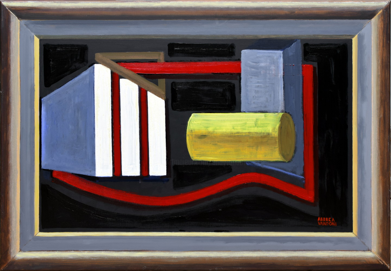 Andrea Vandoni - Realistic Representation Of A Framed Abstract